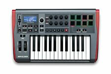 Novation Impulse 25 Tasti semipesati Tastiera Controller Midi USB Drum Pad PC ma