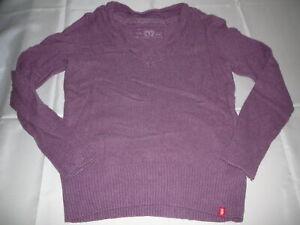 Edc by Esprit toller Strick Pullover Gr. XXL lila !!