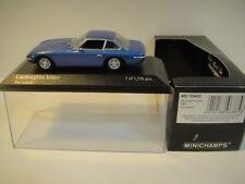 --1/43 MINICHAMPS. LAMBORGHINI  ISLERO 1968 Blue Metallic.