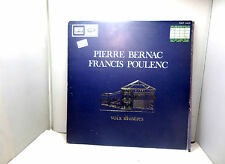 PIERRE BERNAC FRANCIS POULENC FALP50036  VINYL LP,S RECORD