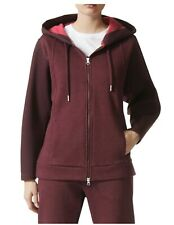 8c01d7f8b873 Adidas By Stella McCartney Deep Burgundy Womens Essentials Spacer Hoodie  Size M