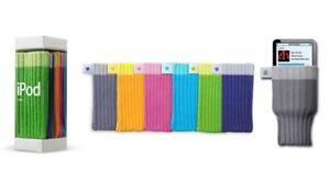 NEW Genuine Apple Ipod Socks Covers In 6 Multi Colors M9720G/B