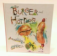 """Jim Aylesworth SIGNED """"The Burger and the Hot Dog"""" kids silly food poetry book"""