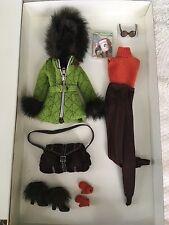 Barbie Silk stone Ski Vacation Set Wardrobe w/ Accessories MIB PERFECT