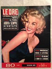 RIVISTA LE ORE 272 7/1958 ROSOLINA NERI MEDIO ORIENTE RITA HAYWORTH GLENN FORD