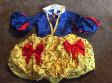 Girls Disney Snow White Princess Costume Role Play Dress Up Outfit Size 7-8