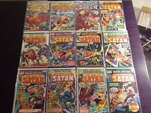 MARVEL SPOTLIGHT 1ST SERIES Vol. 1 SON OF SATAN LOT OF 12