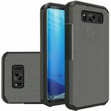 Étuis, housses et coques Samsung Galaxy S8 en fibre de carbone pour téléphone mobile et assistant personnel (PDA)