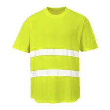 Magliette da uomo giallo poliestere taglia S