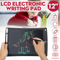 12'' Electronic LCD e-Writer Painting Board Graphic Drawing Tablet Writing Pad