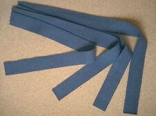 Drapé laine gris-bleu pour coiffe intérieure casque Adrian 1915