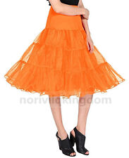 Womens Retro Short Petticoat Tutu Skirt Wedding Crinoline Party Prom Slips Dress