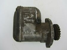 Fairbanks Morse Type Fm J 1 Cylinder Engine Magneto Tractor Hit Miss Gear Drive