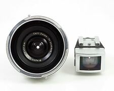 Carl Zeiss Biogon 21mm F4/5 for Contarex with viewfinder, hood and system case