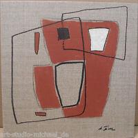 """Michael Feicht (geb. 1959):""""Lineament mit Flächen und Körper"""""""