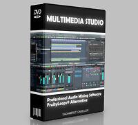 Music Production Studio Software - Multi Track Editing Mixing Recording