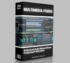 Music Production Studio Software - Multi Track Editing Mixing Recording