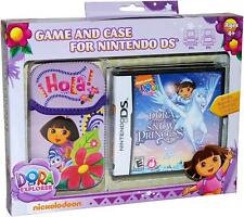 Dora Saves Snow Princess NDS Game and Sakar NDS Case Bundle