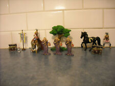 LOT BREYER STABLEMATE MEDIEVAL FANTASY DELUXE PLAYSET HALOWEEN HORSE ACCESSORY