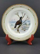 "New ListingRoyal Copenhagen Flora Danica 10"" Game Plate, Wood Grouse, Tatreo Urogallus"