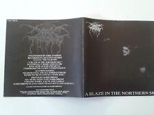 Darkthrone - A blaze in the northern sky CD (White)