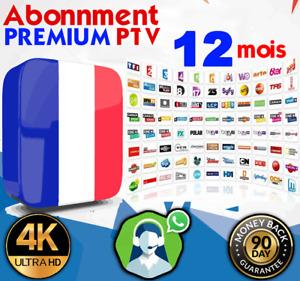 IP*TV 12 Mois Abonnement(✔️7/7 SUPPORT✔️HD FHD✔️M3U✔️SMART TV✔️MAG✔️UFC )EURO ⚽