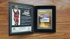 Michael Jordan Final Floor 22kt Gold 2000 Upper Deck Card