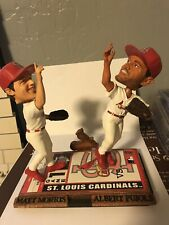Forever Collectibles Legends Of The Diamonds Cardinals Morris/Pujols Bobbleheads