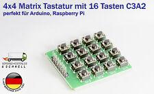 4x4 Matrix Tastatur 16 Tasten C3A2 für Arduino Raspberry Pi DIY Mikrocontroller