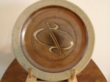 Early Studio Art Pottery Plate by David & Margaret Frith