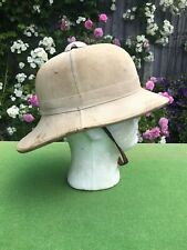Original WW2  British Pith Helmet Hobsons & sons London.