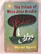 Muriel Spark - The Prime of Miss Jean Brodie - Macmillan 2nd Imp Original Jacket
