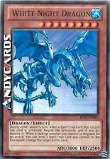 Carta INGLESE White Night Dragon / Drago Notte Bianca ☻ Rara Nera ☻ BP01 EN016