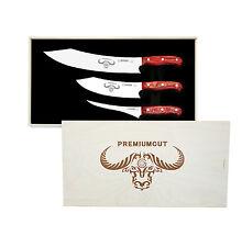 Bilité couteau premiumcut red Diamond 3er set dans exclusif BOX