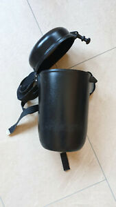 Maskentrage- und Aufbewahrungsdose SEKUR, schwarz und gebraucht