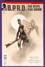 B.P.R.D. THE DEVIL YOU KNOW 1 July 2017 9.4-9.6 NM/NM+ MIKE MIGNOLA VARIANT!!!