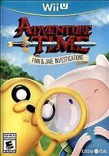 NEW Adventure Time: Finn & Jake Investigations (Nintendo Wii U, 2015)
