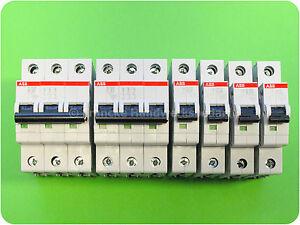 ABB S200 Sicherungsautomat 0,5 bis 63A Charakteristik: B,C,K Polanzahl: 1,2,3