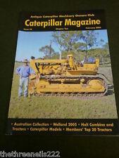 Caterpillar MAGAZINE # 49-AUSTRALIAN COLLECTION-Feb 2006