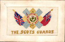 WW1 Regimental Silk. The Scots Guards.