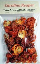 Dried Carolina Reaper Peppers (1oz Bag) - World's Hottest Pepper