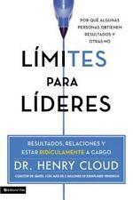 NEW - Limites para lideres: Resultados, relaciones y estar ridiculamente a cargo