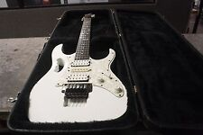 Ibanez Steve Vai Jem 555 Electric Guitar White W/case MINT