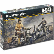 ITALERI US Motorcycles WWII D-Day 322 1:35 Military Model Kit