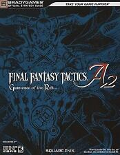 FINAL FANTASY TACTICS A2: Grimoire of the Rift Official Strategy Guide (Official