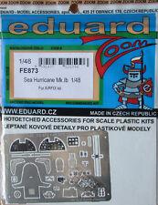 Eduard Zoom FE873 en color de grabado de 1/48 para el Kit de mar Huracán Mk Ib Airfix