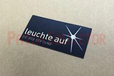 Dortmund leuchte auf DIE BVB Stiftung 2012-2013 Sleeve Soccer Patch / Badge