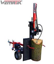Holzspalter Wematik stehend liegend 110 cm Benzin Spalter B&S hydr 20 - 32 t 1 m