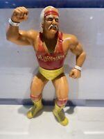 LJN Hulk Hogan Red Shirt Figure Titan sports vintage 80s WWE WWF 1980s rare