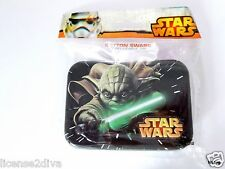 STAR WARS COTTON SWABS IN A REUSABLE TIN COLLECTIBLE NEW  Q TIPS 30 SWABS YA